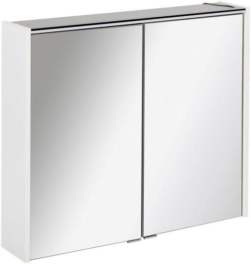 FACKELMANN Spiegelschrank »Denver« 2 Glaseinlegeböden, Schalter, Steckdose