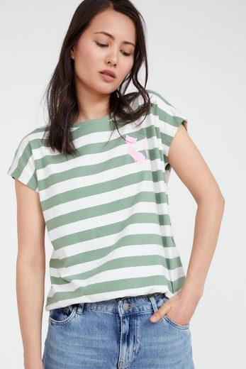 Finn Flare T-Shirt mit Streifenmuster
