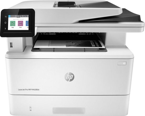 HP herausragende Sicherheitsfunktionen Laserdrucker, (HP LaserJet Pro MFP M428fdn)