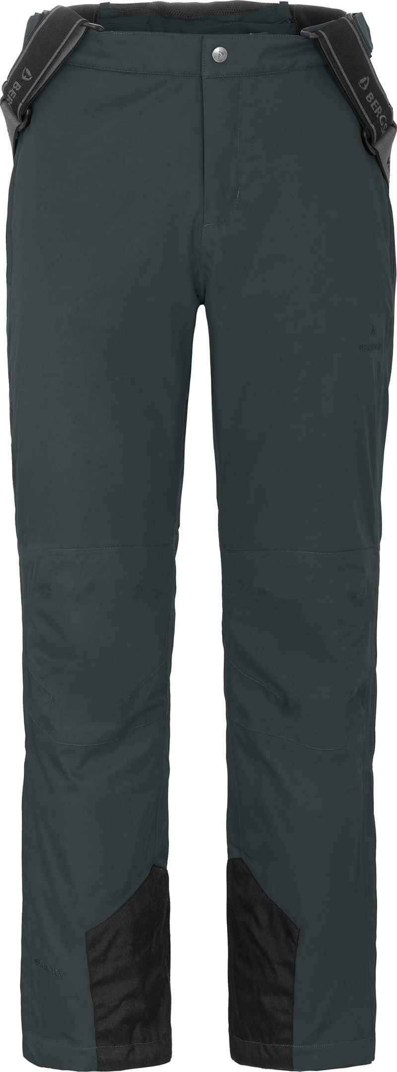 Bergson Skihose »FROSTY RACE« Herren Skihose, elastisch, 12000 mm Wassersäule, Normalgrößen, dunkel grau