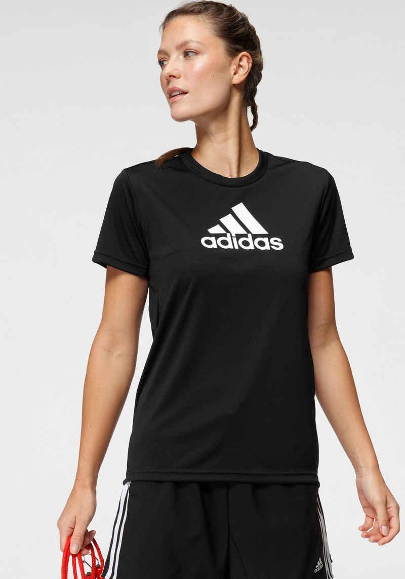 adidas Performance T-Shirt »PRIMEBLUE DESIGNED 2 MOVE LOGO SPORT«