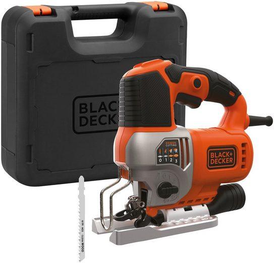 BLACK + DECKER Pendelhubstichsäge 650 W, elektrisch