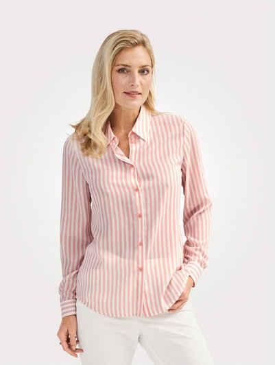 Mona Hemdbluse mit Streifen-Dessin