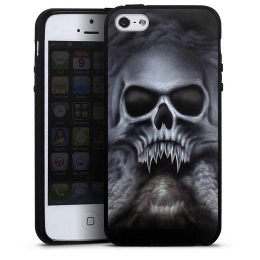 DeinDesign Handyhülle »Trinity« Apple iPhone 5s, Hülle Totenkopf Schädel Halloween