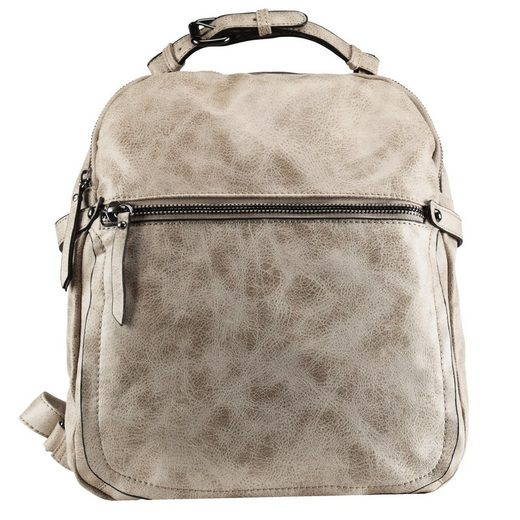 Maestro Cityrucksack »Taschen«, Kunstleder