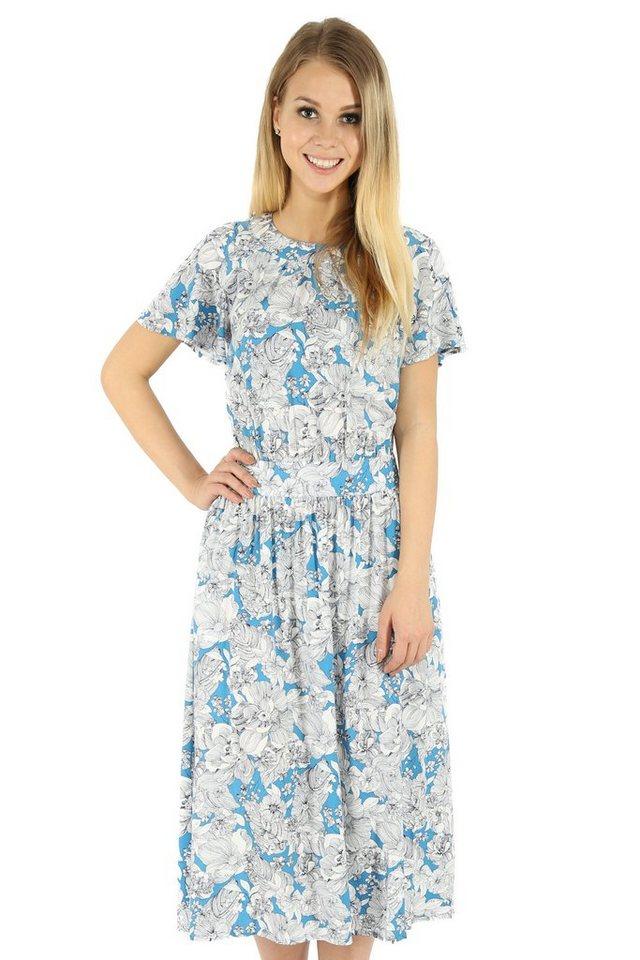 finn flare -  Jerseykleid mit sommerlichem Blumendruck