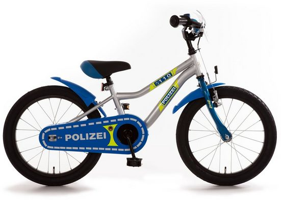 Bachtenkirch Kinderfahrrad »Polizei K«, 1 Gang