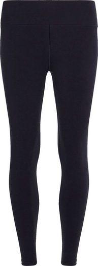 Tommy Hilfiger Leggings »SLIM COTTON STRETCH LEGGING« mit kleiner Logostickerei