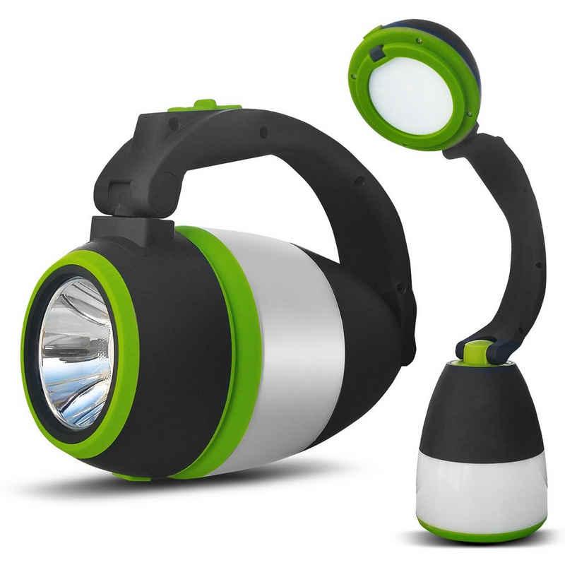 Maclean Energy LED Taschenlampe »MCE298«, 3in1 Multifunktion: Camping - Taschenlampe - Tischlampe; 3 Lichtmodi; Kaltweiß [6000K]; Powerbank-Funktion
