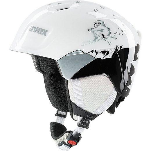 Uvex Skihelm »Skihelm manic, white yeti 51-55 cm«