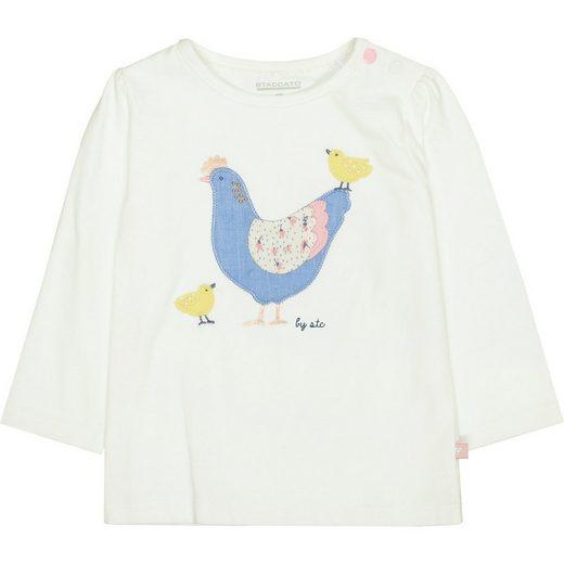 STACCATO Langarmshirt »Baby Langarmshirt für Mädchen«