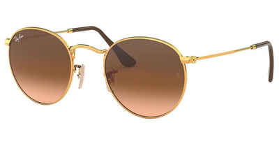 RAY BAN Sonnenbrille »ROUND METAL RB3447«