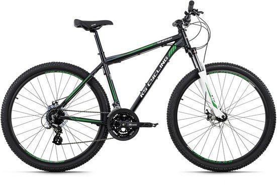 KS Cycling Mountainbike »Sharp«, 24 Gang Shimano Altus RD-M310 Schaltwerk, Kettenschaltung