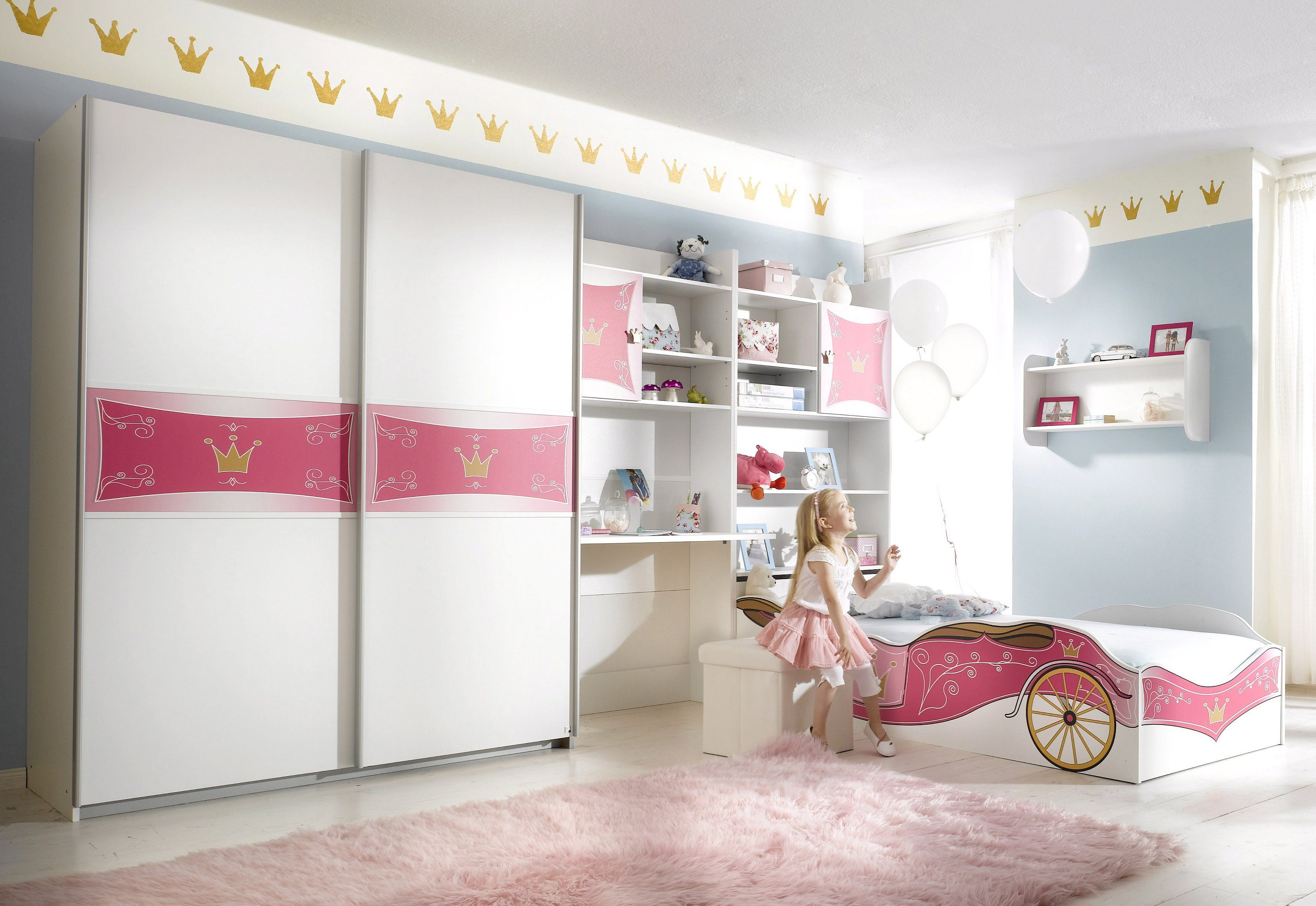 rauch PACK`S Jugendzimmer mit Kleiderschrank (4-tlg.), Made in Germany