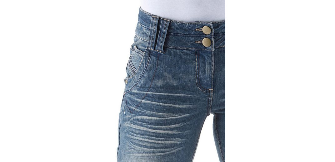 Aniston Caprijeans, im 5-Pocket-Stil
