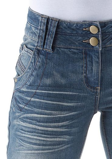 Aniston Caprijeans, im 5-Pocket-Stil