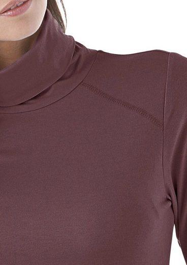 Cheer Rollkragenshirt, aus weicher Jerseyqualität