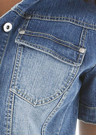 By Used Jeansjacke Baur In washung Aniston UxqSHw7