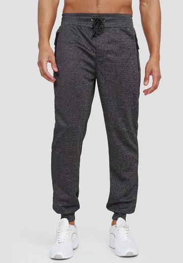 Max Men Jogginghose »3598« Herren Basic Jogger Sport Trainingshose Sport Hose Zip Taschen