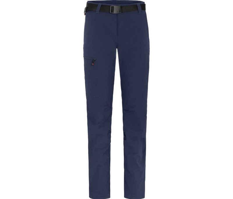Bergson Outdoorhose »HYDRYS« vielseitige Damen Wanderhose, Normalgrößen, peacoat blau