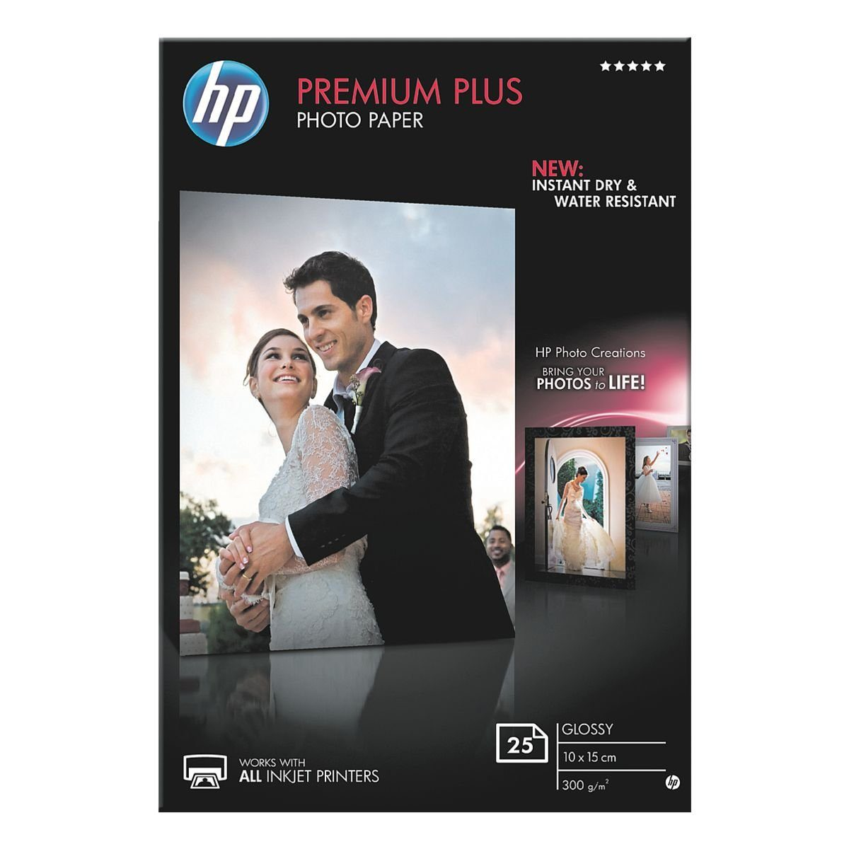 HP Hewlett Packard Fotopapier »HP premium plus glossy«