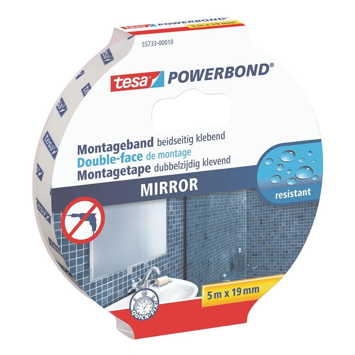 Tesa Montageband »Powerbond Mirror«