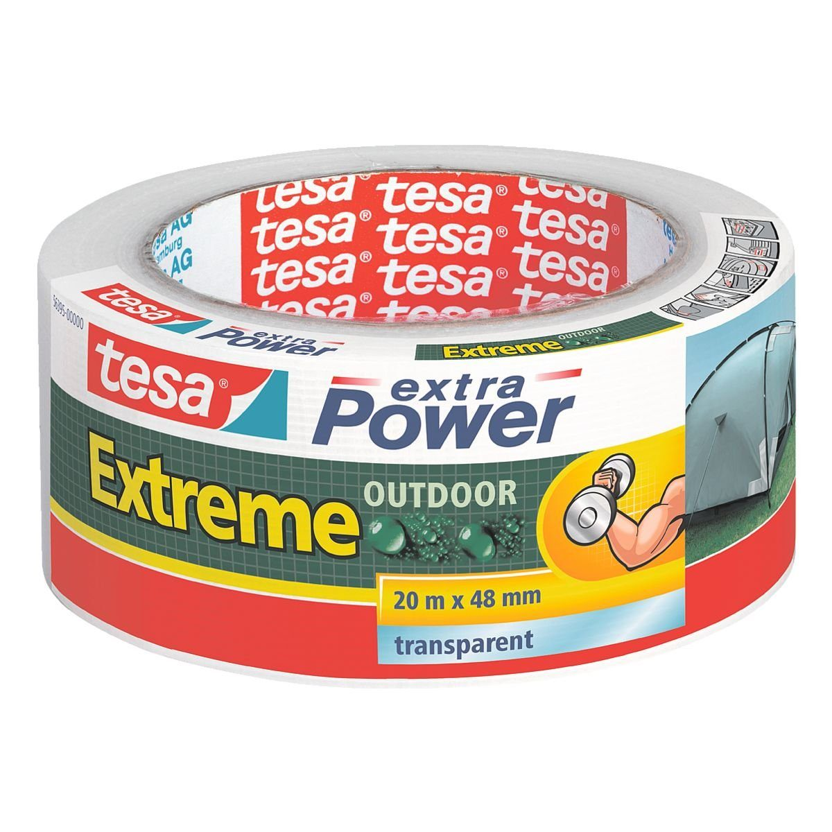 Tesa Gewebeband »Extra Power Outdoor«