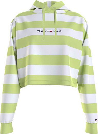 Tommy Jeans Kapuzensweatshirt »TJW BXY STRIPE HOODIE« mit Colorblocking-Streifen