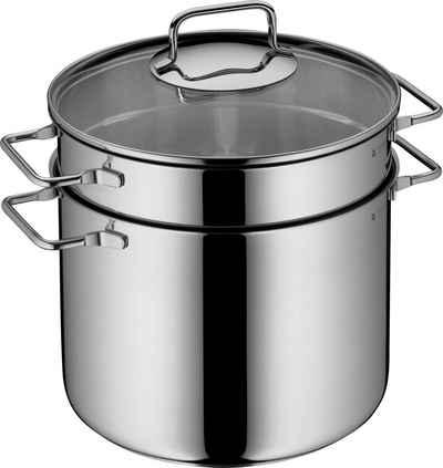WMF Spaghettitopf, Cromargan® Edelstahl Rostfrei 18/10, (1-tlg), mit Siebeinsatz, Ø 24 cm, Induktion