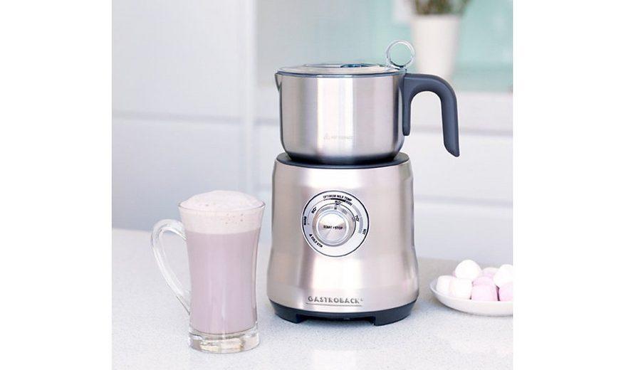 Gastroback Milchaufschäumer » 42360 Advanced«, 1 Liter Edelstahlbehälter, 500 Watt
