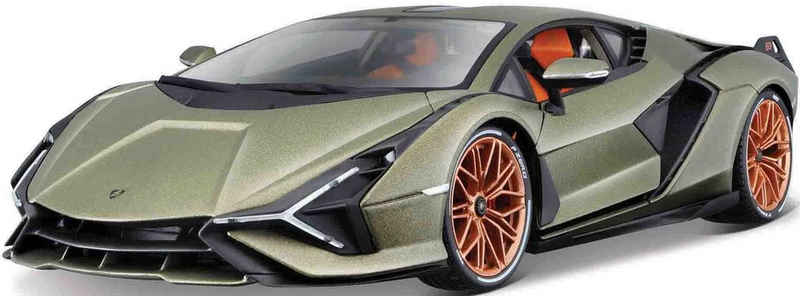 Bburago Sammlerauto »Lamborghini Sian FKP 37«, Maßstab 1:18