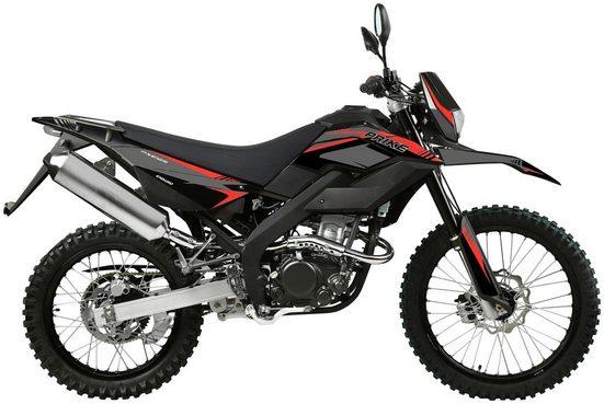 PRIKE Motorrad »PXE 125 Enduro«, 125 ccm, 102 km/h, Euro 4