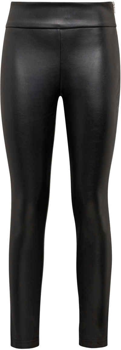 Mavi Leggings in edel schimmernder Leder-Optik