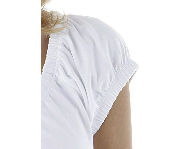 Cheer Rundhalsshirt, mit filigranem Frontprint