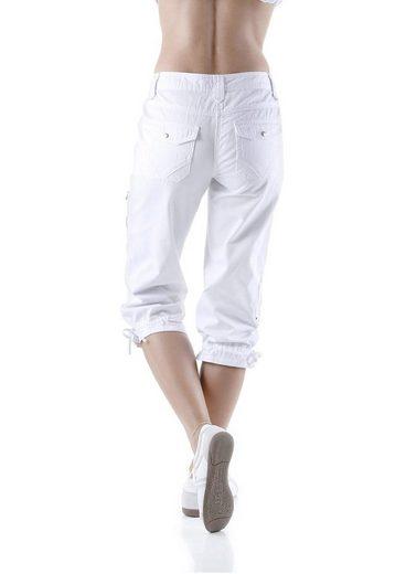 Cheer Cargohose Uschi, mit verstellbaren Beinabschlüssen