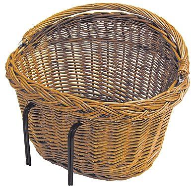 Basil Fahrradkorb »Detroit Weidenkorb oval«
