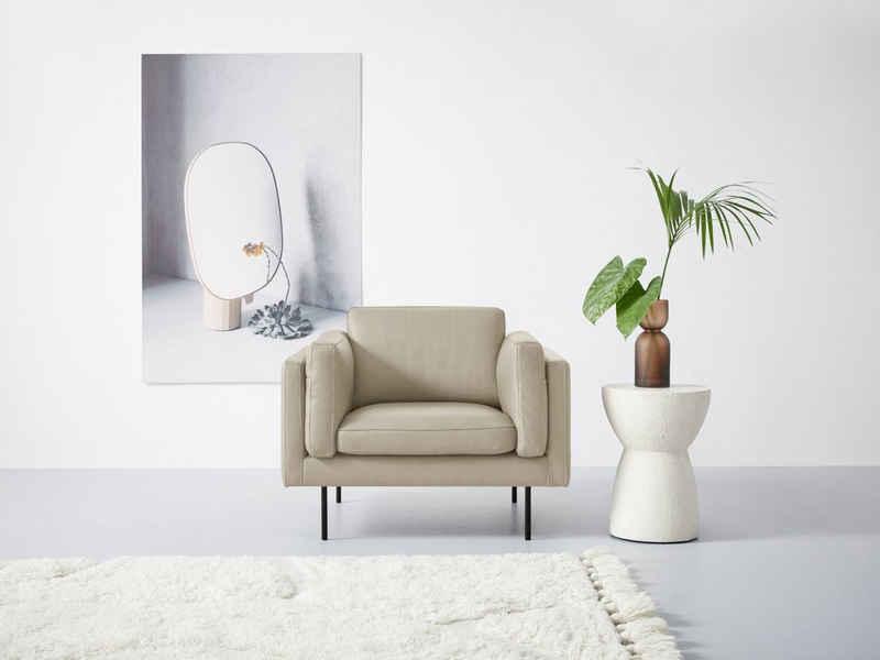 Domicil Sessel »Wind«, inklusive seitlichen Armlehnenkissen