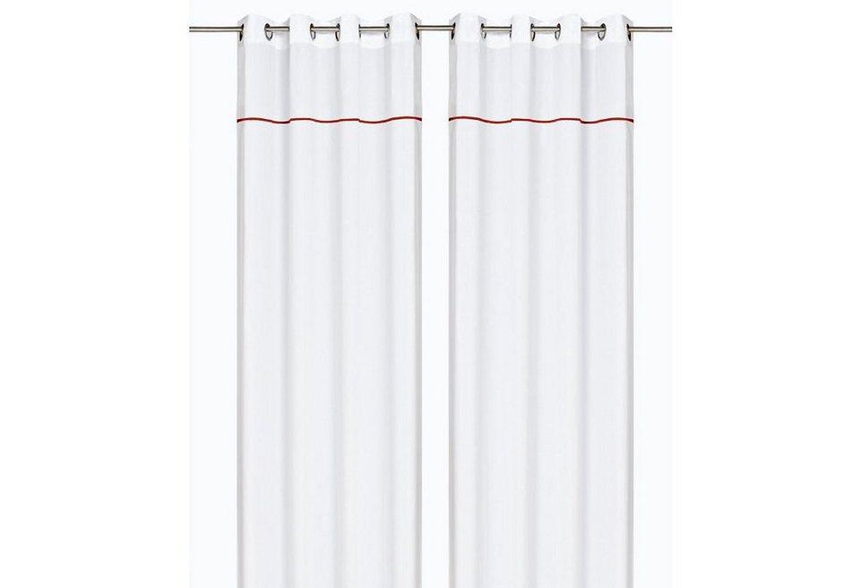 Vorhang, my home, »Sapporo« (1 Stück) in weiß