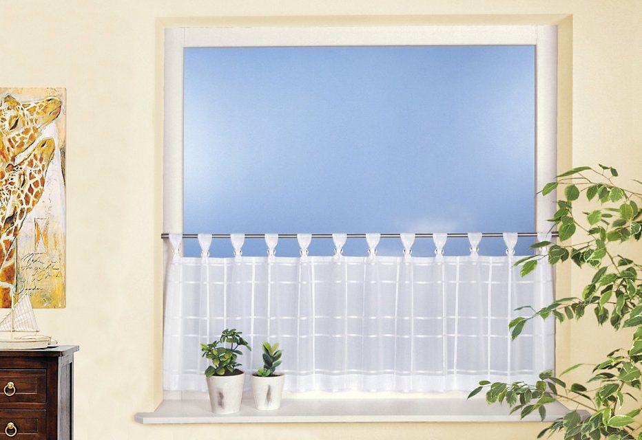 Küchengardinen Mit Schlaufen ~ Kreative Bilder für zu Hause Design ...