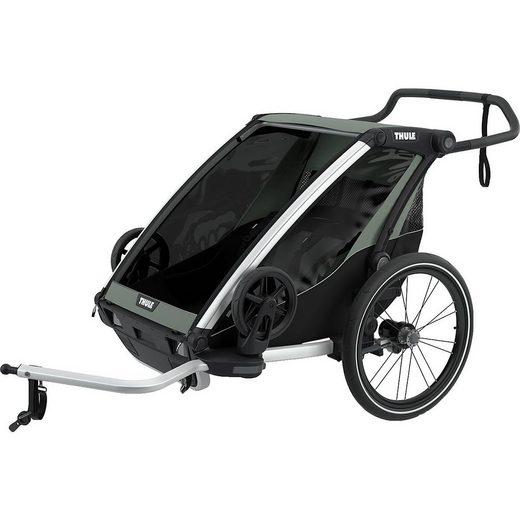 Thule Fahrradkindersitz »Fahrradanhänger Chariot Lite 2, mint/schwarz«