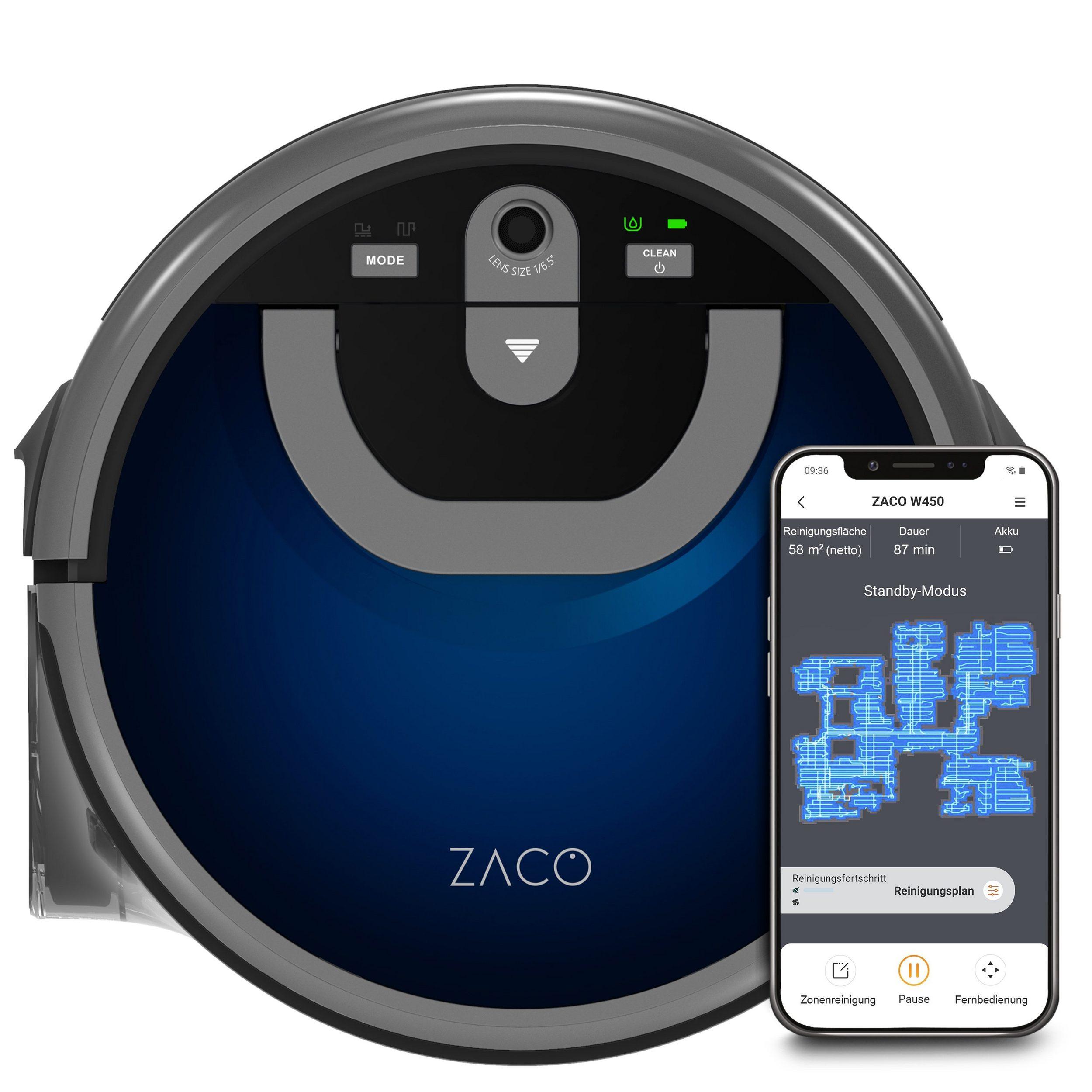 Zaco Wischroboter W450