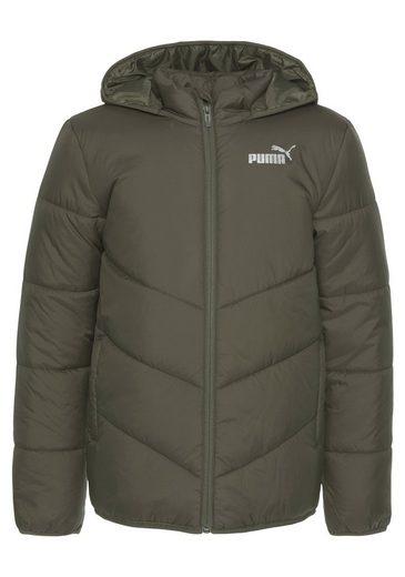 PUMA Steppjacke »ESS Padded Hooded Jacket«