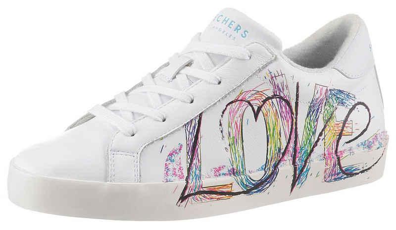 Skechers »DIAMOND STARZ« Slip-On Sneaker mit LOVE-Schriftzug an der Seite
