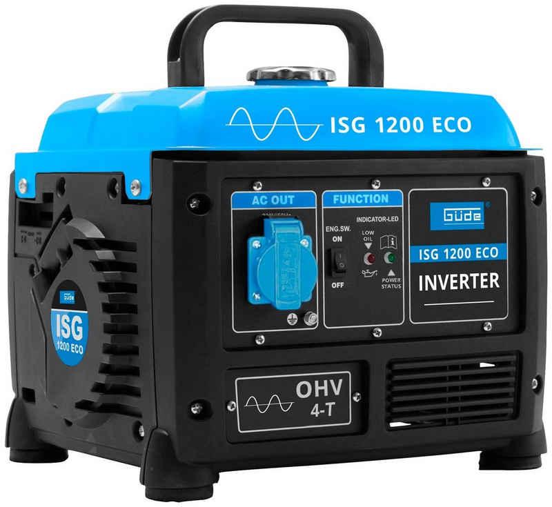 Güde Stromerzeuger »ISG 1200 ECO«, 1,5 in kW, inkl. 230 V Steckdose und Ladekabel