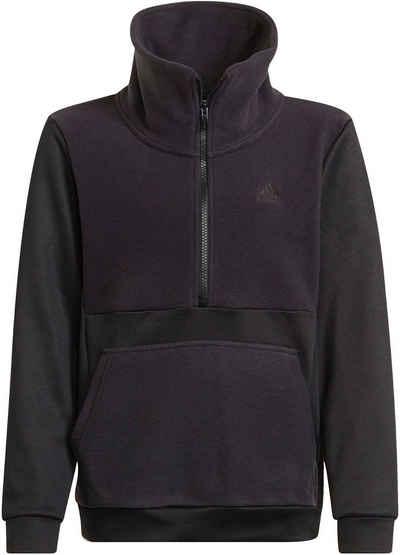 adidas Performance Sweatshirt »FLEECE HALF-ZIP DESIGNED2MOVE AEROREADY WARMING JUNIOR UNISEX«