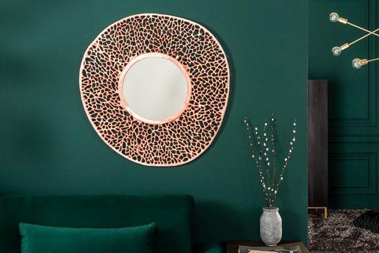 riess-ambiente Wandspiegel »LEAF L 112cm kupfer« (1-St), variabel aufhängbar