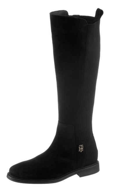 Tommy Hilfiger »TH ESSENTIALS LONGBOOT« Stiefel TH-Logo