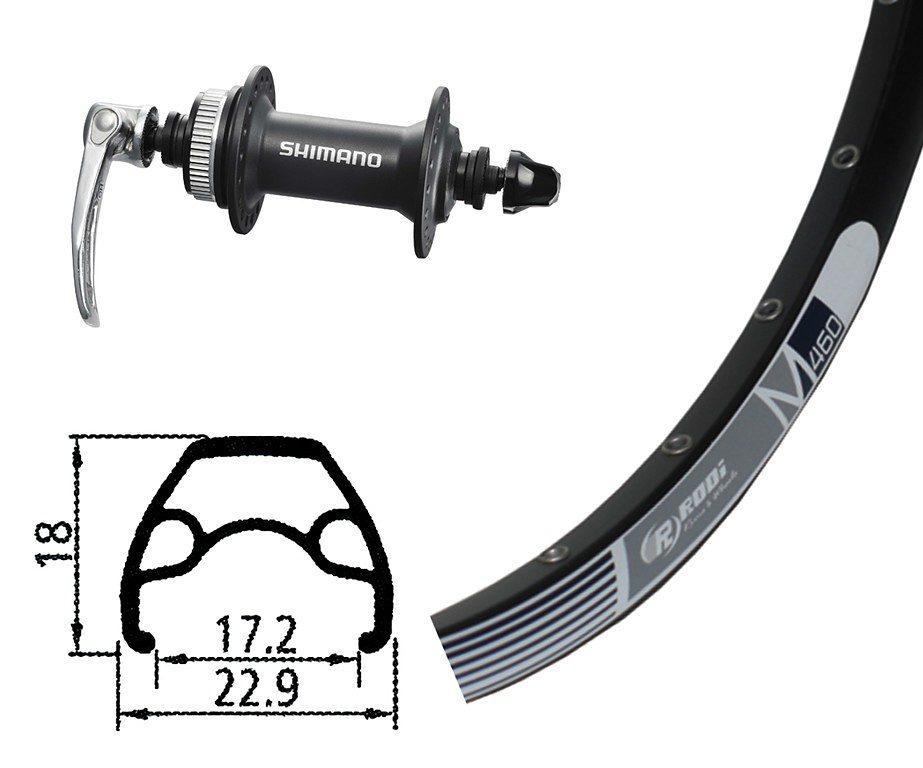 Rodi Laufrad »M460 Vorderrad 26x1.9 32L Disc mit Alivio 435«