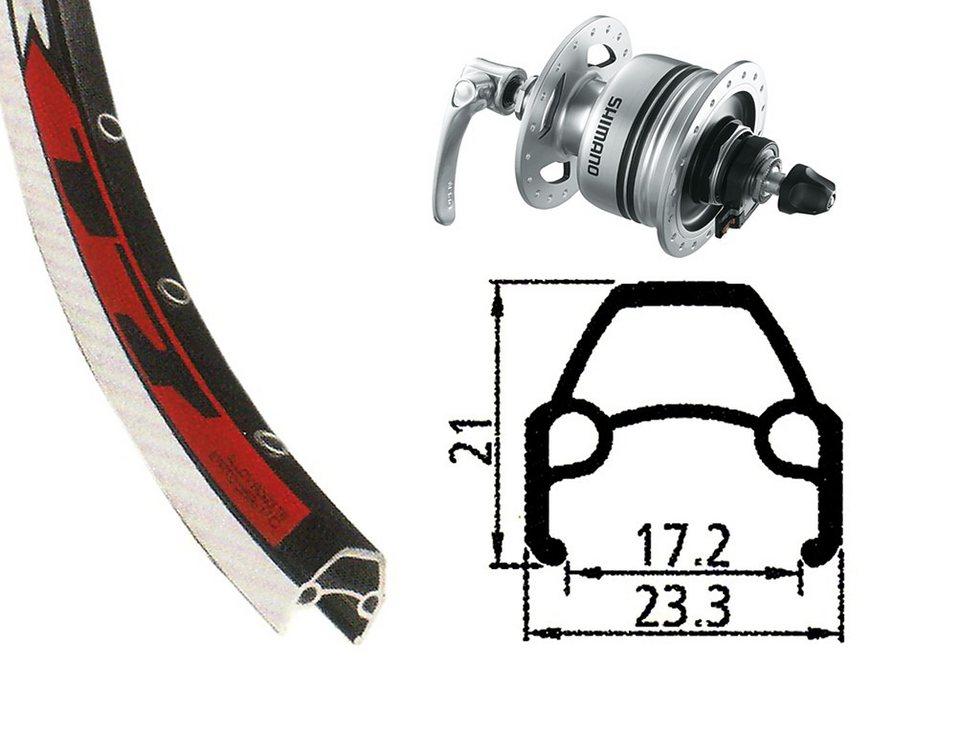 Rodi Laufrad »VR17 Vorderrad 622-17 36L mit DH-3N80 Nabendynamo«