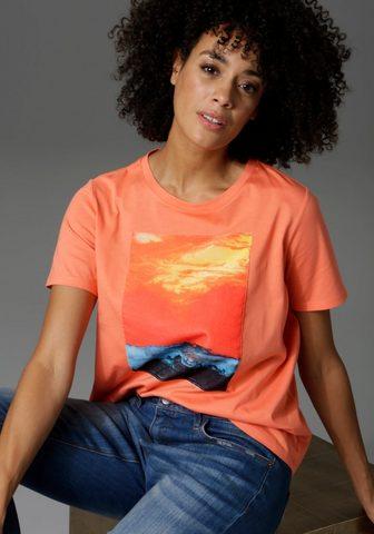 Aniston CASUAL Marškinėliai su stimmungsvoller Sonnen...